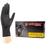 Safe Heal- Black Nitrile Examination Gloves- FDA Approved